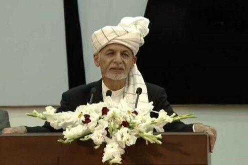 اشرف غنی: کمر طالبان را می شکنیم