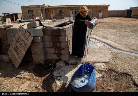 بحران آب در روستاهای بخش اسماعیلیه در خوزستان