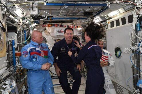 برگزاری مسابقات المپیک در ایستگاه فضایی بین المللی