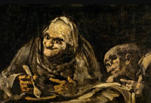 تابلوهای ترسناک یک نقاش ناشنوا