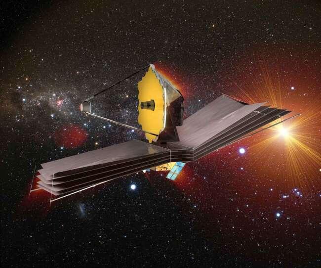 تلسکوپ فضایی جیمز وب آماده پرتاب می شود