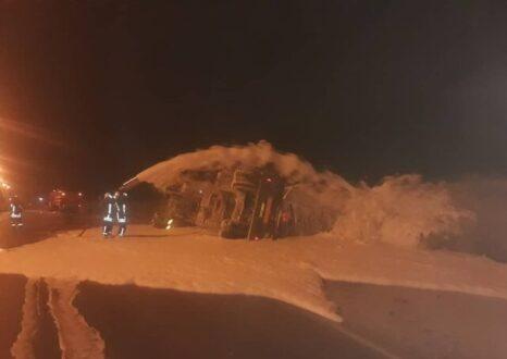 تکرار حادثه واژگونی تانکر سوخت در شیراز