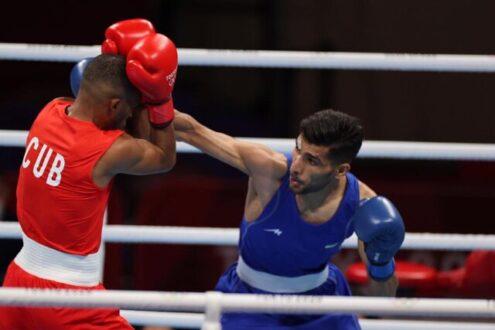 حذف آخرین نماینده بوکس ایران از المپیک