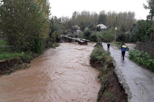 خطر سیل و صاعقه طی امروز و فردا/ احتمال بارش بالای ۶۰ میلیمتر در گیلان