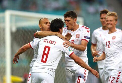 دانمارک به نیمه نهایی یورو 2020 رسید