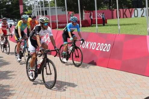 دوچرخه سوار ایران به خط پایان المپیک توکیو نرسید