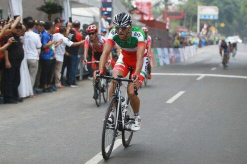 رتبه ۳۵ دوچرخه سوار ایران بین ۳۸ نفر در تایم تریل المپیک توکیو