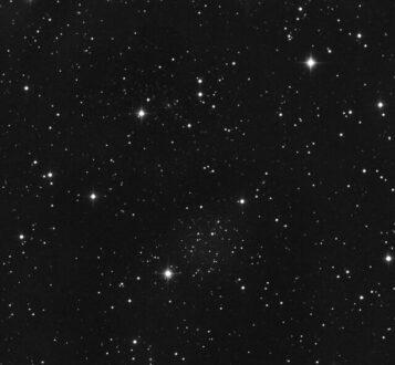 رصد صدها سیاه چاله در دل یک خوشه ستاره ای