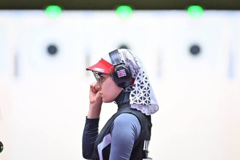 شانزدهمی رستمیان در مرحله دقت تپانچه ۲۵ متر المپیک