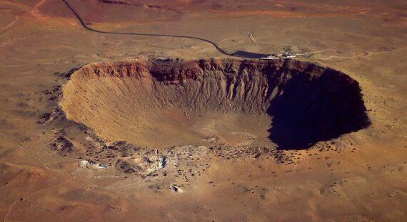 شناسایی مکان های مخفی برخورد شهاب سنگ ها توسط پهپادها