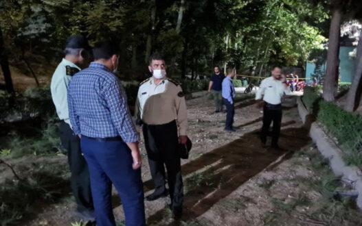 صدای مهیب در غرب تهران؛ انفجار یک شی ناشناس در پارک ملت