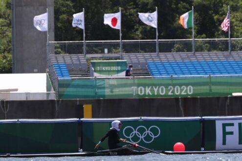 صعود نازنین ملایی به فینال B رویینگ المپیک توکیو