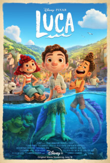 معرفی انیمیشن لوکا 2021 ( Luca ) 1