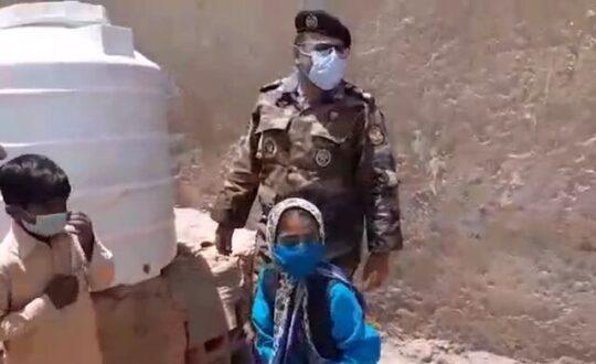 پاسخ ارتش به درخواست دختر سیستان و بلوچستانی