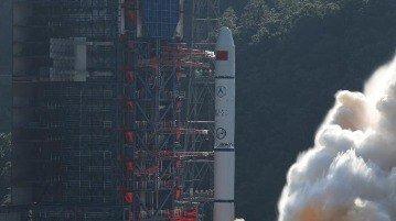 پرتاب چهار ماهواره به فضا توسط چین