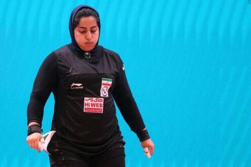 پریسا جهانفکریان به المپیک توکیو می رود