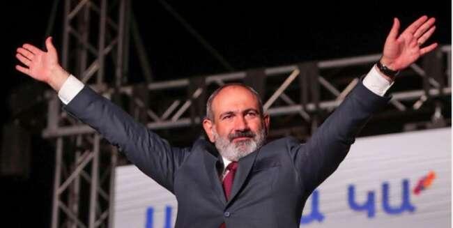 پیروزی پاشینیان در انتخابات ارمنستان تأیید شد