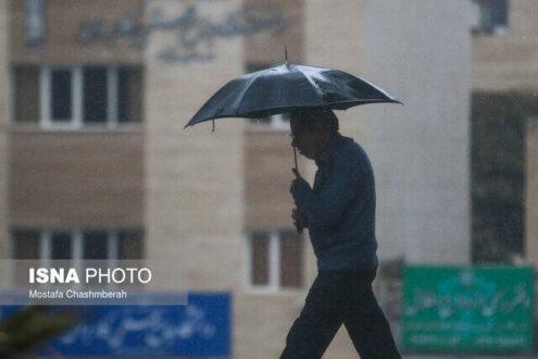 پیش بینی هوا / بارش باران در تهران و ۱۶ استان دیگر