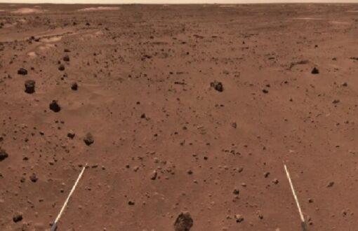 گردش مریخ نورد چینی روی سیاره سرخ