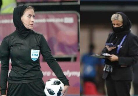 ۲ زن ایرانی در جام جهانی آقایان
