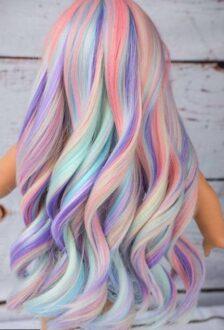 مراقبت از رنگ مو فانتزی