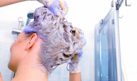 شامپو رنگ مو چیست