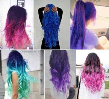 اسپری رنگ مو چیست