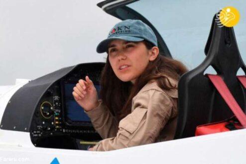 آغاز سفر جوان ترین خلبان زن به دور دنیا