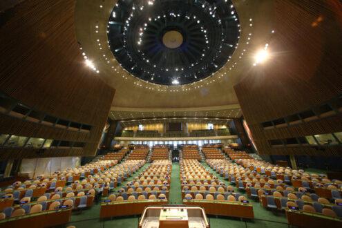 آمریکا خواستار برگزاری ویدیویی مجمع عمومی سازمان ملل شد