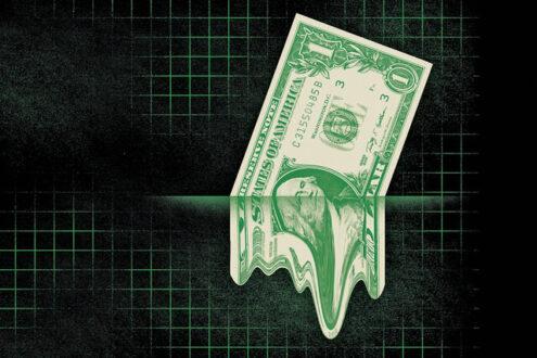 ادامه عقب رفتن دلار
