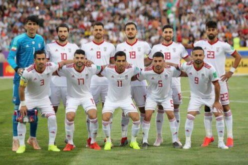 اعلام فهرست نهایی تیم ملی ایران
