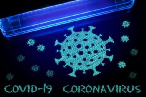 ال ای دی راهی برای غیرفعال کردن کروناویروس