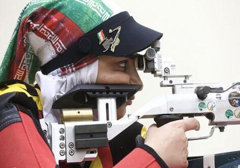 بانوی زنجانی در جایگاه ششم پارالمپیک ایستاد