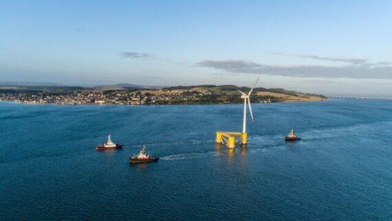 بزرگترین مزرعه بادی شناور جهان آماده بهره برداری است
