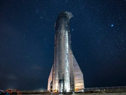 تصاویر جدید از موتورهای موشک استارشیپ