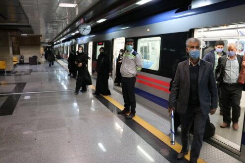 تکمیل دو خط متروی تهران تا پایان سال ۱۴۰۱