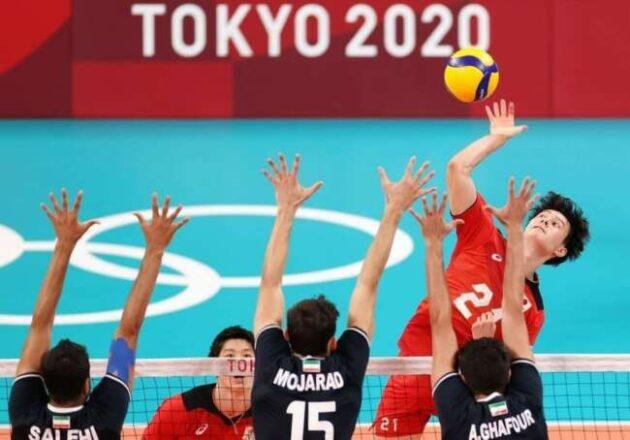 تیم ملی والیبال ایران حذف شد