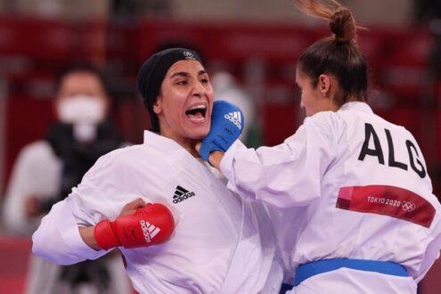 حذف حمیده عباسعلی از المپیک توکیو