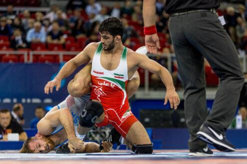 حسن یزدانی به نقره المپیک رسید