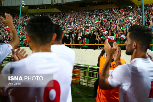 حضور تماشاگران با کارت واکسیناسیون در بازی بعدی تیم ملی ایران