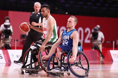 دومین شکست بسکتبال با ویلچر ایران در پارالمپیک توکیو