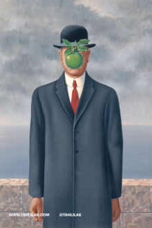 رنه ماگریت - سیب