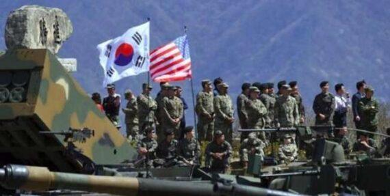 شروع رزمایش مشترک آمریکا و کره جنوبی به رغم اعتراض کره شمالی