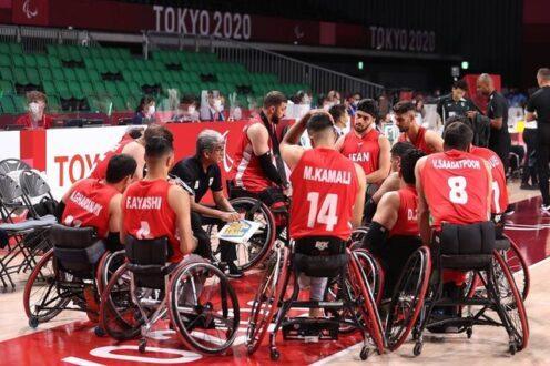 شکست بسکتبال با ویلچر ایران از استرالیا در نخستین بازی پارالمپیک
