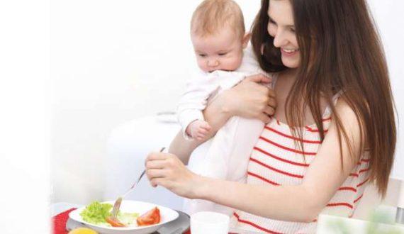 توصیه های تغذیه در دوران شیردهی و مواد غذایی ممنوع