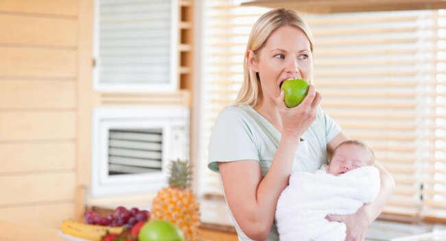 توصیه های غذایی و مواد غذایی ممنوع در دوران شیردهی