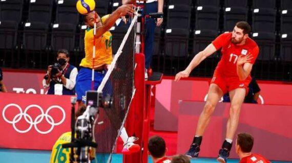 صعود روس ها به فینال والیبال المپیک