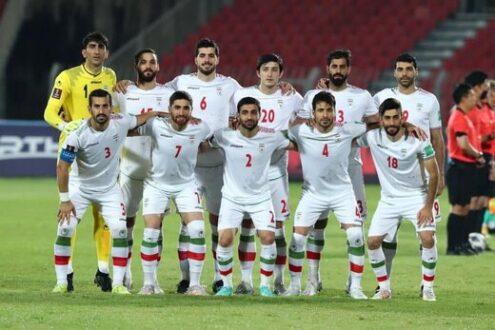 صعود ۵ پله ای تیم ملی ایران در رنکنیگ جهان
