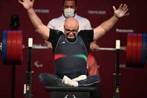 صلحی پور نقره پارالمپیک را به دست آورد