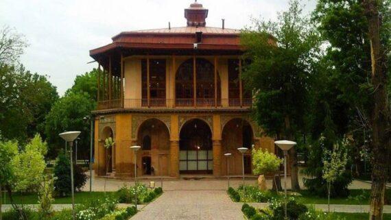 کاخ چهلستون قزوین / عمارت کلاه فرنگی قزوین